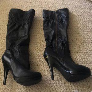 Michael Kora size 8 black boots